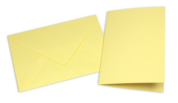 Card with Envelope, yellow