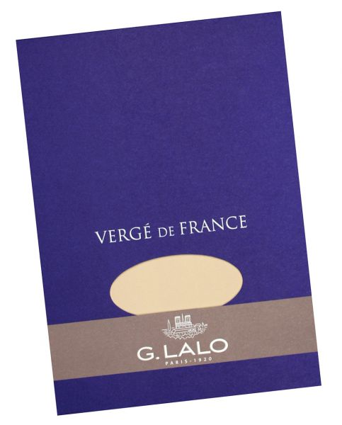 Grained Paper Pad, champagne