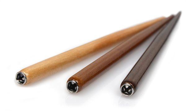 Federhalter aus Holz, natur