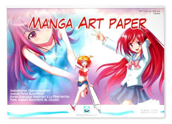 Manga Art Zeichenblock