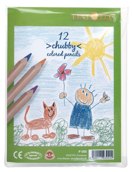 """Chubby"" Colored Pencils, 12 pcs."