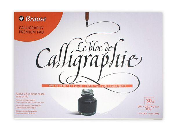 Kalligrafieblock A4