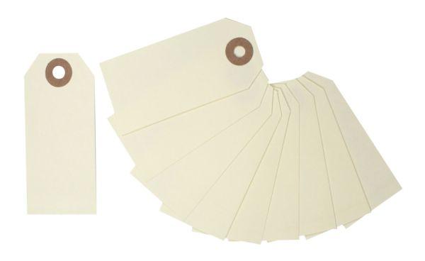 10 Paper Tags, 80 x 38 mm