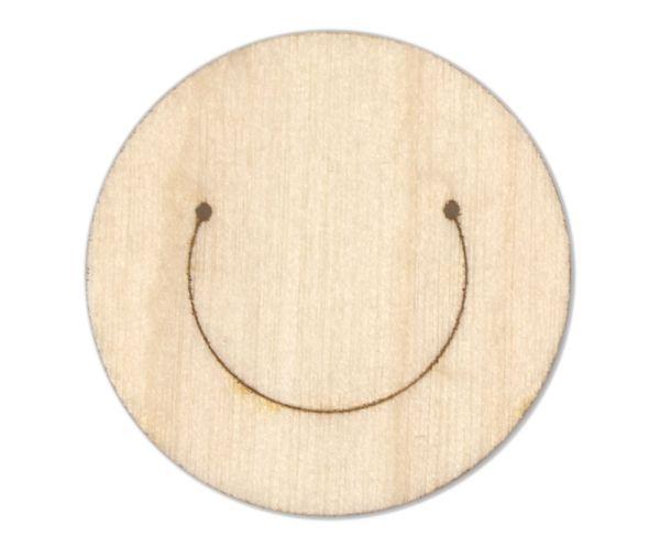 Büroklammer aus Holz