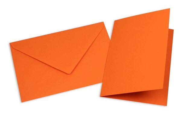 Card with Envelope, orange