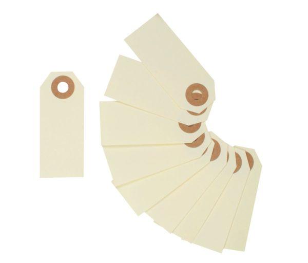 10 Paper Tags, 64 x 26 mm